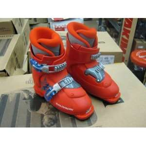 Salomon Performa T2 Ski Boots   Red: Sports & Outdoors