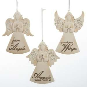 Club Pack of 12 Angel with Inspirational Sayings Christmas Ornaments 4