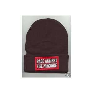 RAGE AGAINST THE MACHINE Beanie HAT SKI CAP Black NEW