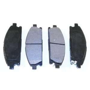 Prime Choice Auto Parts SMK855 Premium New Semi Metallic Front Brake