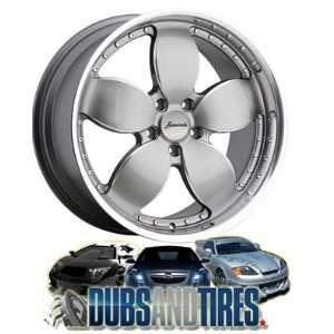 Konig wheels Freedom Graphite/Machine Lip wheels rims Automotive