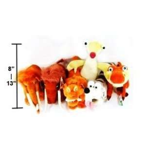 6pc Ice Age 3 Movie Dawn of the Dinosaurs Plush Doll