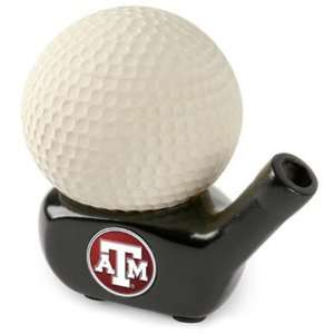 Aggies TAMU NCAA Golf Ball Driver Stress Ball: Sports & Outdoors