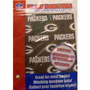 Green Bay Packers Stretchable Book Cover Case Pack 72