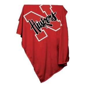 of Nebraska Cornhuskers Sweatshirt Blanket