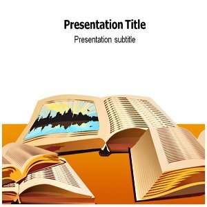 Open Book Powerpoint Template   Open Book Powerpoint PPT
