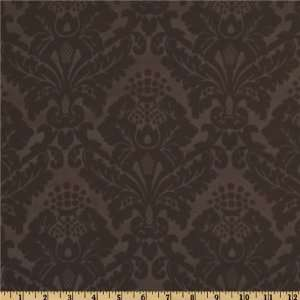 60 Wide Light Out Drapery Fabric Embossed Brown By The