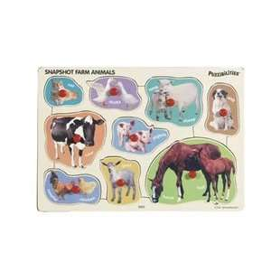 Puzzibilities Snapshot Farm Animals Toys & Games