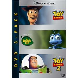 Pack (Toy Story/A Bugs Life/Toy Story 2) Disney 3pak, * Movies & TV