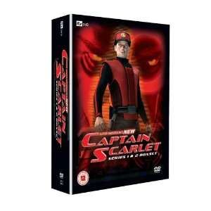 New Captain Scarlet   Series One & Two   8 DVD Box Set