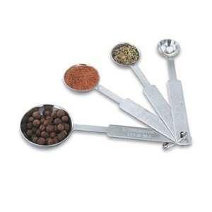 Vollrath Stainless Steel 4 Piece Measuring Spoon Set