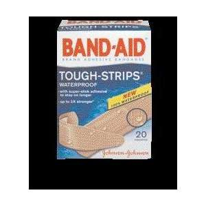 Sizes Band Aid Tough Strips Waterproof Adhesive Bandage (20 Per Box