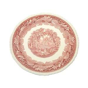 Masons Furnival Pink Vista Chop Plate, 12 Inch Kitchen