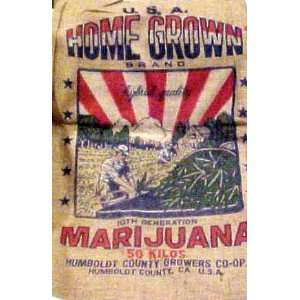 Home Grow Burlap Marijuana Sack: Everything Else