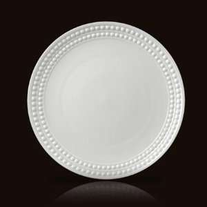 LObjet Perlee White Dinner Plate 10.5in