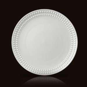 LObjet Perlee White Dinner Plate 10.5in Kitchen & Dining