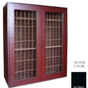 Sonoma 500 Bottle Wine Cellar   Glass Door / Black Cabinet Appliances