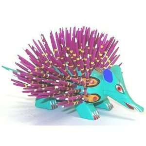 Porcupine Oaxacan Wood Carving 5 Inch Home & Kitchen