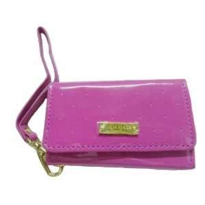 Patent Leather Case Cover Wristlet Wallet Pouch Hand Bag Purse