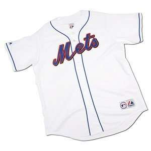 New York Mets Youth Replica MLB Game Jersey by Majestic