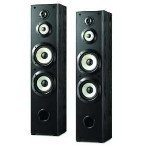 Sony Powerful 180 watts 4 Way Floor Standing Speakers (Pair) with Dual