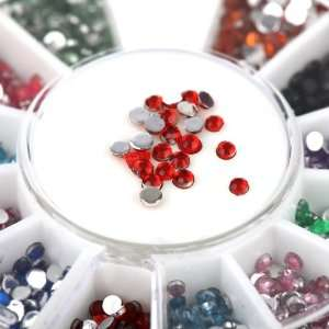 Nail Art Rhinestones By Cheeky  Wheel of 2400 Premium Manicure Nail