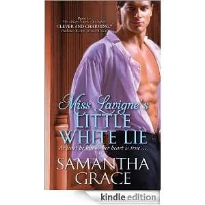 Miss Lavignes Little White Lie Samantha Grace  Kindle