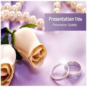 Wedding Rings Powerpoint Templates   Wedding Rings Powerpoint PPT