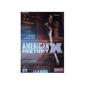 AMERICAN HISTORY X (ROLLED FRENCH) Movie Poster