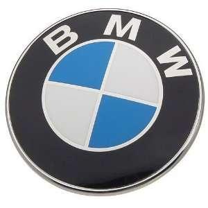 OEM BMW TRUNK HOOD TRUNK EMBLEM ROUNDEL LOGO 82 mm