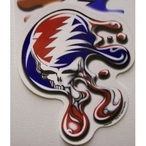 Steal Your Face Jerry Garcia Grateful Dead Music Hippie Stickers Art