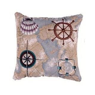 Warren Kimble Decorative Accent Throw Pillow 17 x 17