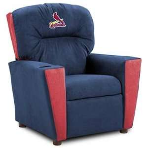 St. Louis Cardinals MLB Team Logo Kids Recliner  Sports
