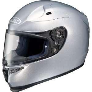 HJC RPS 10 Full Face Motorcycle Helmet Light Silver Extra