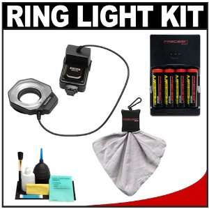 Bower SFD14N Digital Macro Close Up Ring Light Flash