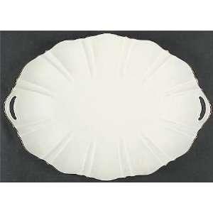 Lenox China Symphony Gold 16 Oval Serving Platter, Fine