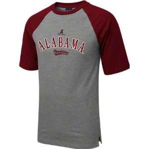 Alabama Crimson Tide Youth Grey Double Header T Shirt