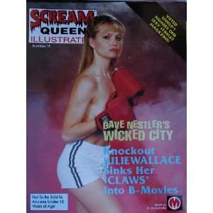 Scream Queens Illustrated Magazine #19, 1997 Featuring Julie Wallace