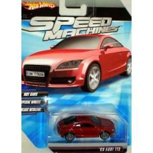 Hot Wheels Speed Machines 09 Audi TTS RED 1:64 Scale : Toys & Games