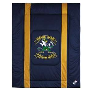 com Notre Dame Fighting Irish Comforter Full Queen Sports & Outdoors