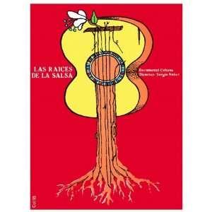 .LAS RAICES DE LA SALSA Cuban film directed by Sergio Nunez.Guitar