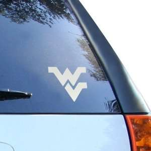West Virginia Mountaineers 5 x 6 Silver Window Graphic
