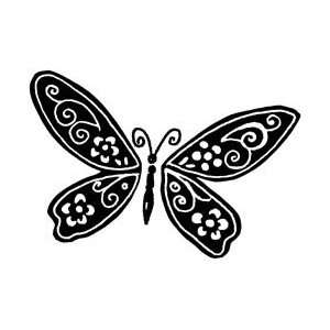 Penny Black Rubber Stamp 1.5X2.25 Shadow Wings; 3 Items