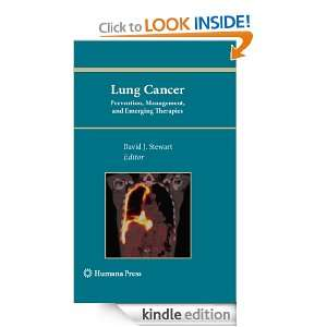 Lung Cancer:: Prevention, Management, and Emerging Therapies (Current