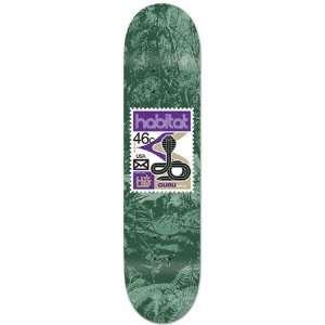 HABITAT Skateboard Deck GURU KHALSA POSTAGE 7.75  Sports