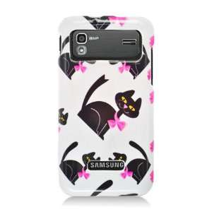 Samsung I927 Captivate Glide Graphic Case   White Bow Tie Cat (Package