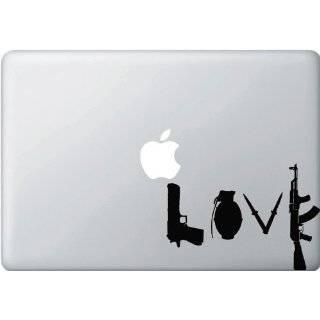 Love Guns   Macbook or Laptop Decal