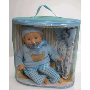 Little Dreams Deluxe Doll Gift Set   Blue Toys & Games