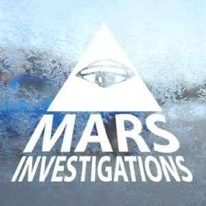 VERONICA MARS White Decal DETECTIVE AGENCY Window White