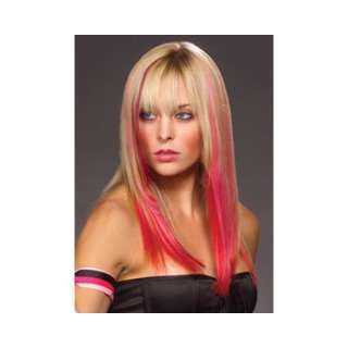 Easilites Clip In 100% Human Hair Highlights (16)   Bubblegum